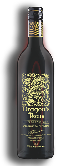 Dragons Tears Cabernet Sauvignon by Minhas Winery
