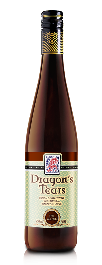 Dragons Tears Pineapple Wine by Minhas Winery