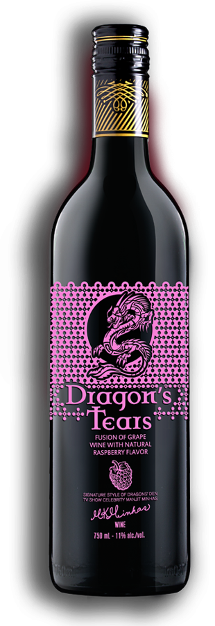 Dragons Tears Raspberry Wine by Minhas Winery